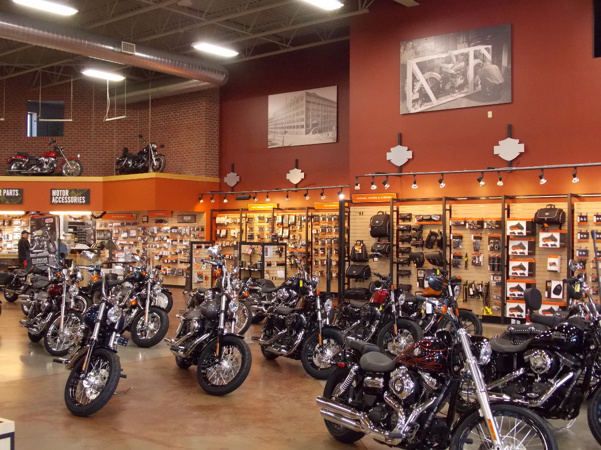Commercial Harley Davidson ZYLSTRA Interior Painting | AM Painting of Princeton