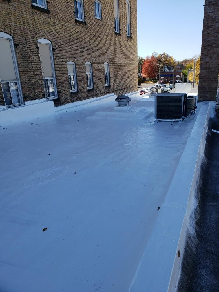 Flat roof coating in Princeton | AM Painting of Princeton